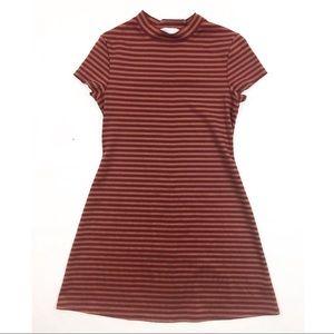 Free People Beach Mini Striped Dress